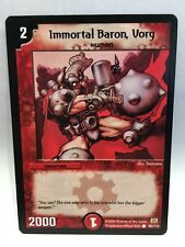 Immortal Baron, Vorg (80/110)   Duel Masters Trading Card Game Single Card