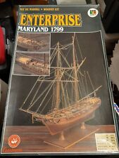 Constructo Wooden kit ENTERPRISE Maryland 1799 1/60 Scale Wood & Brass Fittings