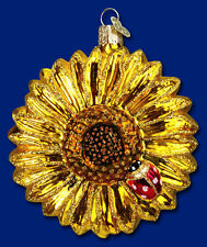 """Sunflower"" (36058) Old World Christmas Glass Ornament"