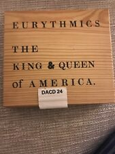 EURYTHMICS King And Queen Of America CD UK Rca 1989 4 Track In Numbered Wooden