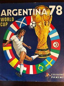 Album Calciatori Panini World Cup Argentina 78 Completo