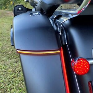Kuryakyn Black Indian Taillight Rear Tail Lamp Top Trim Accent Roadmaster Chief