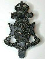WW1 First Surrey Rifles, 21st Battalion County of London Regiment Cap Badge