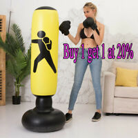 UK 160cm Free Standing Inflatable Boxing Punch Bag Kick MMA Training Kids Adult*