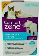 New listing Comfort Zone Two Room Kit Multi Cat Diffuser For Cats & Kittens