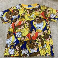 Tokyo Disney Resort All Over Print Beauty And The Beast T-Shirt Unisex Size L