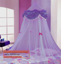 PURPLE PERFECT PRINCESS BED CANOPY MOSQUITO NET NEW FAST SHIPPING FROM USA