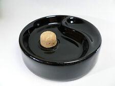 feiner PFEIFEN ASCHENBECHER - schwarz Keramik - NEU - 520705