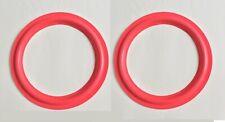 "12inch 12"" Red Foam Speaker Surrounds Repair For CERWIN VEGA D-5 D-6, D-7, DX-7"