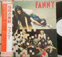 FANNY Rock And Roll Survivors JAPAN WHITE PROMO VICTOR SWX-6189 OBI