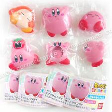 ~ Nintendo - KIRBY - Japan Bandai gashapon - 6 mascot figure CLIP - complete set