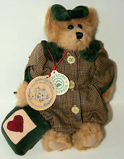 "Vtg Boyds Presents Bailey Bear Teddy Plush Toy 8"" Love Pillow New Tags NOS 1996"