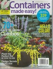 Garden Gate Magazine Containers Made Easy! Spring 2019 Plants