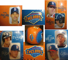 Brooklyn Cyclones METS Colors STAR BALL Pagan Parnell Davis Evans Duda Mejia Gee
