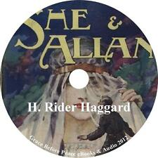 She and Allan, an Action Adventure Audiobook by H. Rider Haggard on 1 MP3 CD