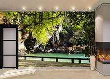 View of the Beach Wall Mural Photo Wallpaper GIANT DECOR Paper Poster Free Paste