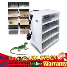 New listing Acrylic Multipurpose Reptile Breeding Tank Feeding Box F/ Insect Turtle Cage Pet