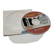 cyberlink powerdvd xp 2000 4.0 software cd us includes key 2001 windows 98 95