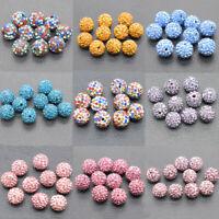 Wholesale Czech Clay Crystal Disco Shamballa Beads Bracelect Jewelry Making 12MM