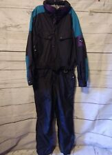 New listing MARKER One Piece Ski Outfit Suit Snow Pant Snowmobile Men's Size Large Black