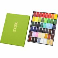 Kuretake Gansai Tambi 48 Color Japanese Traditional Water Color Set