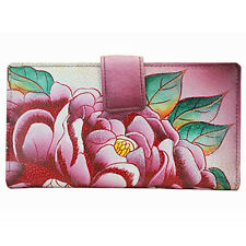 Anna by Anuschka Ladies Wallet 2 Fold Precious Peony