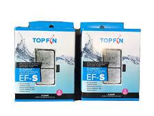 Top Fin Element Filter Cartridge/ EF-S, 2 pkg of 6 filters! 12 Months Supplies
