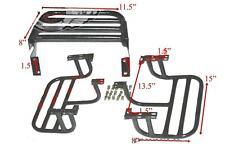 Complete Rear & Front LH RH Side Footrest 3 Units For Willys CJ Commander ECs