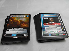 STAR TREK CCG THE MOTION PICTURES COMPLETE COMMON AND UNCOMMON SET