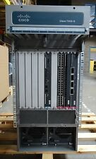 CISCO7609-S + 2x FAN-MOD-9SHS + WS-X6704-10GE + WS-X6724-SFP + WS-X6748-GE-TX