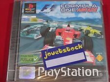 FORMULA ONE ARCADE PLAYSTATION 1 NEUF BLISTER FORMULA 1 ARCADE PS1
