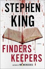 Finders Keepers A Novel by Stephen King  First Edition-Brand New (2015, HCDJ)