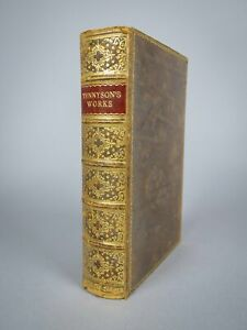 1919 The Works Of Alfred Lord Tennyson. Fine Binding.