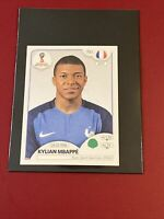 Panini Rookie Kylian Mbappé France FIFA World Cup 2018 Russia # 209