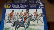 Italeri 1/72 Napoléonienne Britannique Lourd Cavalerie Écossais Gris # 6001