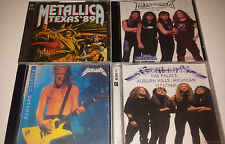 Metallica: 4 unreleased live CD's
