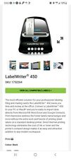 Dymo Labelwriter 450 Label Printer Blacksilver Amp 2 Full Rolls Labels