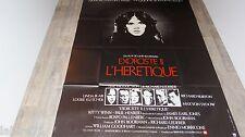 L'EXORCISTE II l' heretique  ! linda blair affiche cinema epouvante