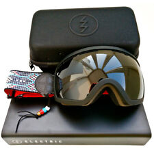 Rare Electric EG2.5 Repop MFG Snow Goggles Jet Black Lens Ski Snowboard
