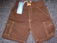 New Gymboree DOG HANDSOME brown cargo shorts boy 2T