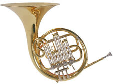 French Horn, BB cor, goldmessing embout, 4 cylindres vannes, valise, nouveau