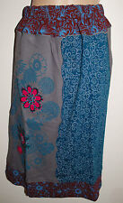 New Gringo Embroidered Skirt XS 6 8 - Hippy Fair Trade Hippie Gypsy Flower