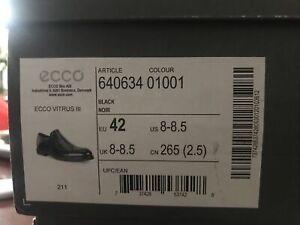 ECCO Men's Vitrus 3.0 Apron Toe Slip on Loafer Size 42