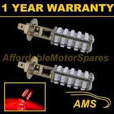 2X H1 RED 60 LED FRONT FOG SPOT LAMP LIGHT BULBS HIGH POWER KIT XENON FF500101