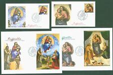 Vatikan 2012 - Parallelausgabe mit Deutschland Weihnachten - Joint Issue - 4 FDC