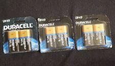 3pks of 2. Duracell CR-V3 Ultra Lithium Batteries Exp: 3/2024