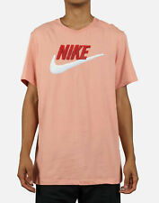 Nike S/S NSW SWOOSH BRAND MARK T-SHIRT HEATHER PINK/MULTICOLOR AR4993-606