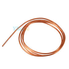 2M Soft Copper Round Tubing Pipe (OD 4mm x ID 3mm) For Refrigeration Plumbing DH