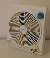 Retro 2 speed cooling fan, handy desktop table top size, good working order.