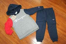 NWT GIRLS BOYS CHAMPION SZ 4T HOODIE, SWEATPANTS SWEATSUIT